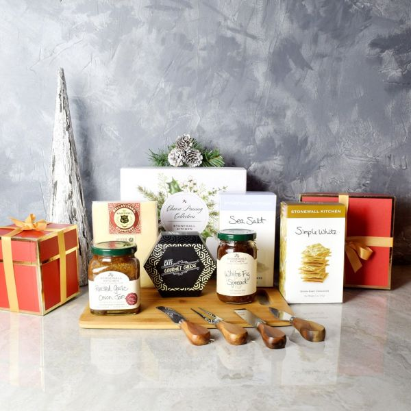 Holiday Cheese Pairing Gift Basket