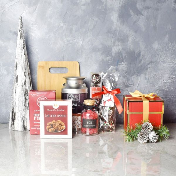 Holiday Hot Chocolate & Treats Basket
