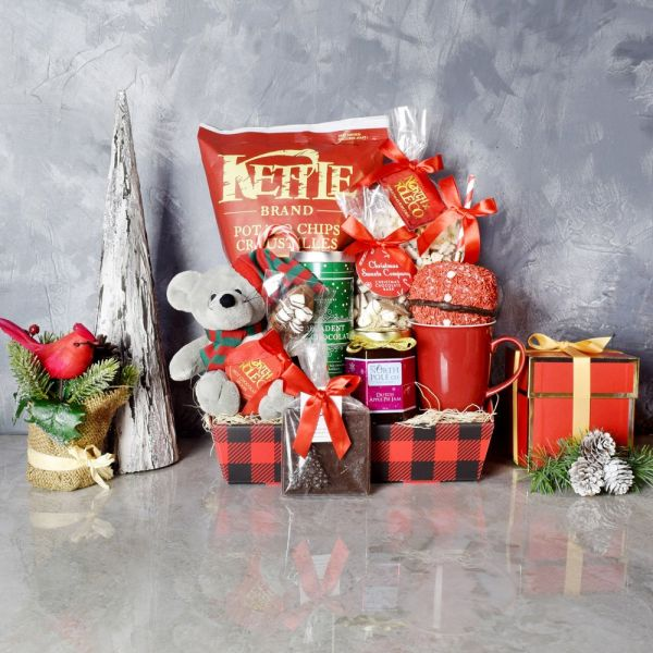 Christmas Cheer & Treats Basket