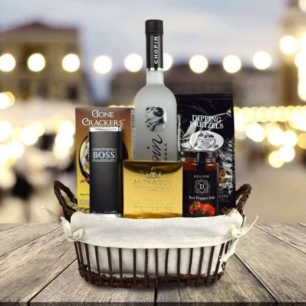 Custom Liquor Gift Baskets New York City
